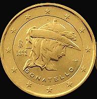 ITALIE 2016 - 2 EUROS COMMEMORATIVE - DONATELLO -  PLAQUE OR - Italie