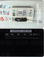 BARBADOS ISL.(GPT) - GPT Cardphone, Chorley Test Card 1000 Units, CN : BARBADOS 600 + 3 Digits, Tirage 100, Used - Barbades
