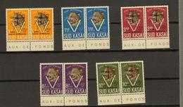 Zuid-Kasai Ocb Nr: 20B - 24B ** MNH (zie Scans) - Sud-Kasaï