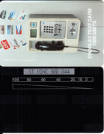 ST. VINCENT & GRENADINES(GPT) - GPT Cardphone, Chorley Test Card 1000 Units, CN : ST. VINC 300 + 3 Digits, 100ex, Mint - St. Vincent & Die Grenadinen
