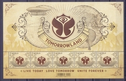 Belgie - 2018 - OBP - ** Tomorrowland - Live Today Love Tomorrow Unite Forever ** 1 W - Belgique