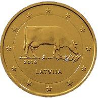 LETTONIE 2016 - 2 EUROS COMMEMORATIVE - INDUSTRIE LAITIERE -  PLAQUE OR - Lettonie