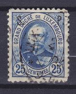 Luxembourg 1891 Mi. 50    25c. Grossherzog Adolph Mit Aufdruck 'S.P.' Officiel - Officials