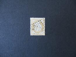 CACHET LOSANGES 2135 SUR TIMBRE CERES REPUB. FRANC. 15c - Marcophilie (Timbres Détachés)