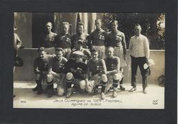 CPA Jeux Olympiques Paris 1924 Non Circulé AN 305 Football équipe De Suède - Jeux Olympiques