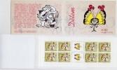 Carnet 2005 De 8 Timbres + 2 Coupons YT C 402 Enfants Lutins Conte Papillon / Booklet Michel MH 118(437) Kids' Day - Tchéquie