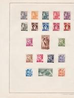 Sarre (Saarland) - Collection  (Sammlung) Timbres Neufs (ungebraucht) Avec Charnière - 1947-56 Allierte Besetzung