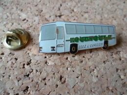 PIN'S     CAR  AUTOBUS - Transportation