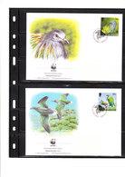 W.W.F. 3 - Pigeons Nicobar - Tauben & Flughühner