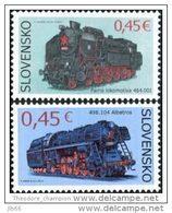 2015 YT 665 / 666 Série De 2 Timbres Trains Locomotive à Vapeur / Steam Train - Neufs