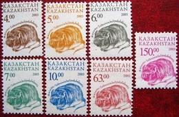 Kazakhstan  2003 Fauna   Definitive Issue  7 V  MNH - Kazakhstan