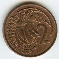 Nouvelle Zélande New Zealand 2 Cents 1967 KM 32.1 - Nouvelle-Zélande