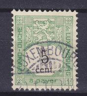 Luxembourg Porto 1907 Mi. 1   5c. Ziffernzeichnung LUXEMBOURG Cds. - Postage Due