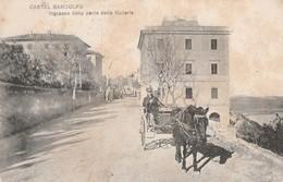 Cartolina- Castel Gandolfo - Ingresso Dalla Parte Della Galleria (come Da Scansione) - Autres
