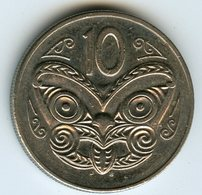 Nouvelle Zélande New Zealand 10 Cents 1987 KM 61 - Nouvelle-Zélande