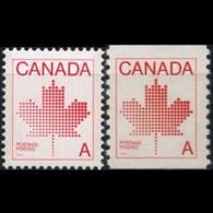 CANADA 1981 - Scott# 907-8 Maples Set Of 2 MNH - 1952-.... Reign Of Elizabeth II