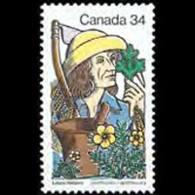 CANADA 1985 - Scott# 1060 Apothecary Hebert Set Of 1 MNH - 1952-.... Reign Of Elizabeth II