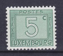 Luxembourg Porto 1946/47 Mi. 23   5c. Ziffernzeichnung MNH** - Postage Due