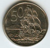 Nouvelle Zélande New Zealand 50 Cents 1988 KM 63 - Nouvelle-Zélande