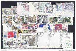 Année Complète 1994 Oblitérée YT 29/59 Complete Year Used - Tchéquie