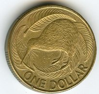 Nouvelle Zélande New Zealand 1 Dollar 1990 KM 78 - New Zealand