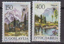 Yugoslavia 1987 European Nature 2v ** Mnh (41319W) - 1945-1992 Socialistische Federale Republiek Joegoslavië