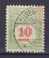 Luxembourg Porto 1922 Mi. 11A  10c. Ziffernzeichnung Perf. 12½ - Postage Due