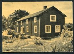 Sweden - Sommarhemmet ,Tjäro ,S.T.F.s  Grupp  I  Biekinge. - Sweden