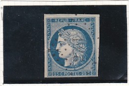 F 243 - YT N°4 Oblitéré  Petits Chiffres - 1849-1850 Ceres