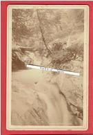 LUCHON HAUTE GARONNE VERS 1880 GOUFFRE DE BONNEAU PHOTOGRAPHE LAFONT 61 ALLEE D ETIGNY A LUCHON PHOTOGRAPHIE EN BON ETAT - Lieux