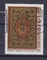 Luxembourg 1985 Mi. 1137    10 Fr. Nationalbibliothek Bucheinband Der Mansfeld-Sammlung - Luxembourg