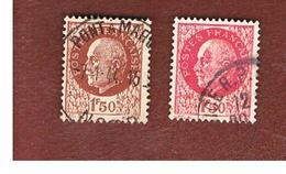 FRANCIA (FRANCE) -   SG 720.721   -    1941  MARSHALL  PETAIN   - USED - Francia