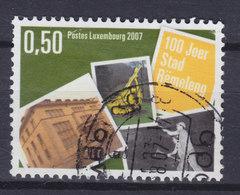 Luxembourg 2007 Mi. 1749    0.50 € Stadtrecht Für Differdingen Rümelingen - Luxembourg