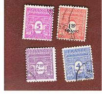 FRANCIA (FRANCE) -   SG 851.858   -    1944  ARC DE TRIUMPH   - USED - Frankreich