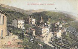 Rochetaillée (Loire) - Près De Saint-Etienne, Vue Générale Du Village - Edition Nouvelles Galeries - Carte Colorisée - Rochetaillee
