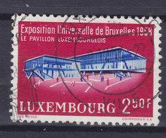 Luxembourg 1958 Mi. 582    2.50 Fr. Weltausstellung Brüssel Bruxelles - Luxembourg