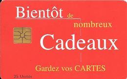 CARTE+PUCE-MAROC-AVE PHONE-25U-GEMA-CADEAUX--TBE - Morocco