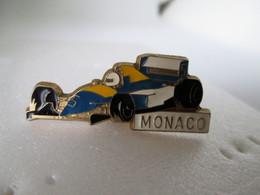 PIN'S     F 1  MONACO - F1