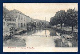 Pepinster. Vue Sur La Vesdre. Cheminée D'usine Textile. 1907 - Pepinster