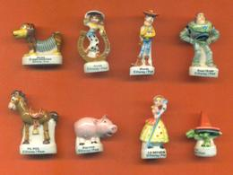 Serie Complète De 8 Feves Toys Story 2 2001 - Animals