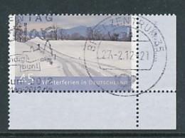 GERMANY Mi.Nr. 2904 Ferien In Deutschland - Eckrand Unten Rechts - Used - Oblitérés
