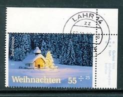 GERMANY Mi.Nr. 2961 Weihnachten - Eckrand Oben Rechts - Used - BRD