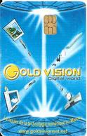 CARTE+PUCE-60Dh-MAROC-MAROC TELECOM-60DRH-SA2-GOLD VISION-06/04-TBE - Maroc