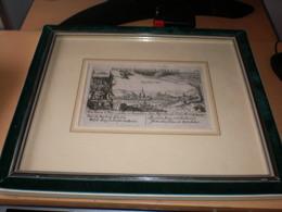 Engraving  Rotenburg In Hesen  Daniel Meisner Aus Komotau Bohmen 1585-1625 - Prenten & Gravure
