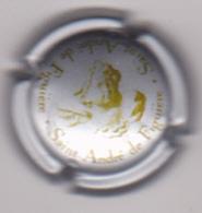 Capsule Mousseux ( Domaine Saint-André De Figuières , Argent Et Vert Foncé ) {S47-18} - Mousseux