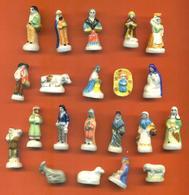 Serie Complète De 21 Feves Sur La Crèche - Nativitée - Characters