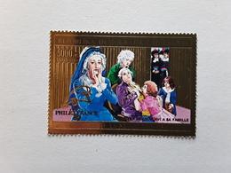 MADAGASCAR 1989 Bicentenaire De La Révolution Française,Adieux De Louis XVI ,yv No 928,5000 F,impression OR Neuf ** TTB - French Revolution