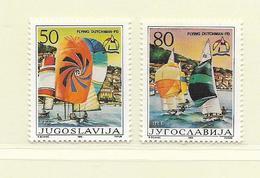 YOUGOSLAVIE  ( EU - 640 )   1986   N° YVERT ET TELLIER  N° 2045/2046    N** - 1945-1992 Socialist Federal Republic Of Yugoslavia