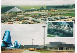 VV-408   EINDHOVEN : Airport With DAF Truck ( Size 17 X 12 Cm) - Vliegvelden
