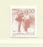 YOUGOSLAVIE  ( EU - 643 )   1986   N° YVERT ET TELLIER  N° 2052(A)    N** - 1945-1992 Socialist Federal Republic Of Yugoslavia
